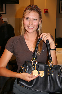 Maria Shapova at the 2005 WTA Champs, Staples Center, LA