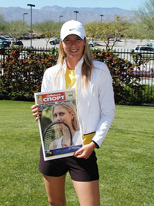 Maria Sharapova in Indian Wells, CA, 2005