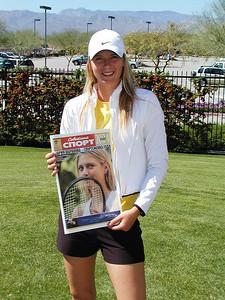 Maria Sharapova in Indian Wells, CA, 2005