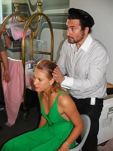 Maria Sharapova at the Nike promotional shoot in Los Angeles, 2004