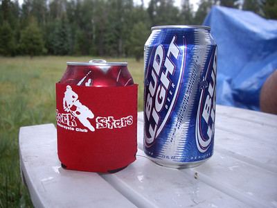 Little koozie for a little Dr. Pepper.