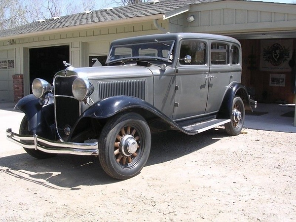 """1932 Dodge DL  - Photo by owner, Phil Kennedy, founder of  Graphic Images. """"She's all original with only 48K miles."""""""