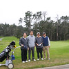 Poppy Hill, Pebble Beach, CA, USA; Group photo after 18 holes