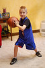 Before his first basketball game (1.09.10)