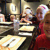 At Tokyo Japanese Steakhouse before the Hohos leave (7.24.13)
