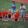 Owen's t-ball team goes to the Dillas game (7.8.08)