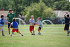 Flag Football Camp at PBC, handing off to Michael Dunn (7.16.10)