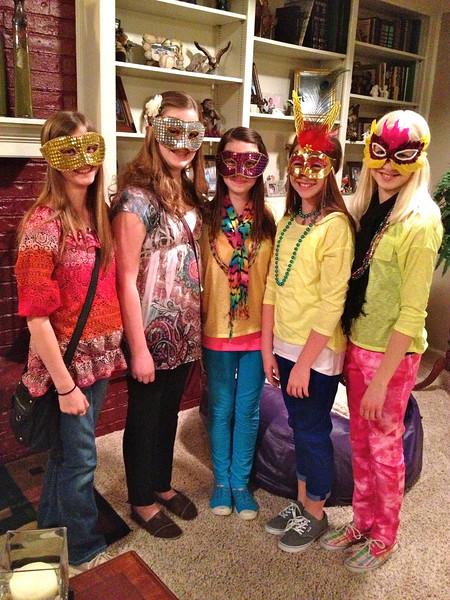 Mardi Gras Dance (3.1.13)