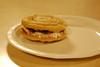 Ellie's cookie sandwich dessert invention (5.8.10)