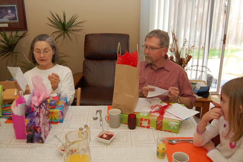 Birthday brunch for Cissy & Pops (5.1.10)