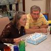 Pops & Cissy's birthday lunch (5.3.09)