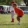 Owen's first t-ball game (5.12.08)