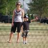 Owen's first t-ball practice (5.1.08).