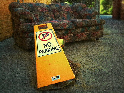 No parking on the couch