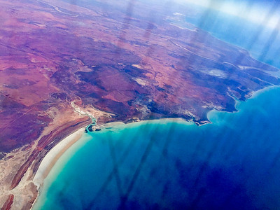 Top-left bit of Australia, near Broome.