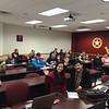 Speaking to the Evolutionary Marketing class at WTAMU's business school (11.19.14)