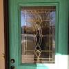 Repainting/refinishing the front door (11.16.13)