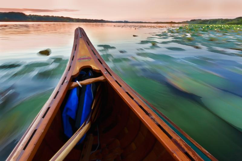 Portage Lakes canoe trip