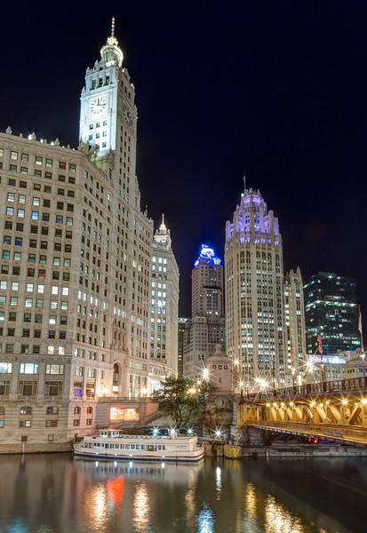 Wrigley Building, Chicago Tribune Bulding