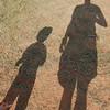 Family picnic at Palo Duro Canyon (9.7.09) Jason and August