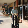Next to last day of the pharmacy...Granddad gets his Segway (09.04.08)