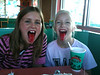 Snowcones for Mallery's birthday (9.24.10)