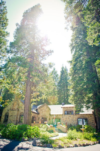 The wonderful Chaney house at Lake Tahoe