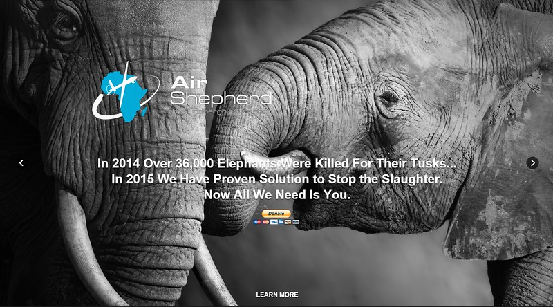Air Shepherd : Stop Elephant and Rhino Poaching