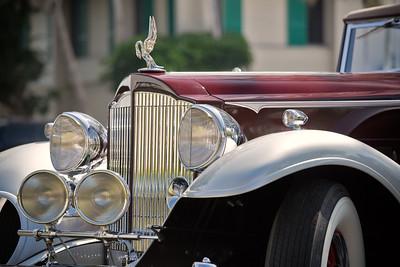 Packard Twelve Hood