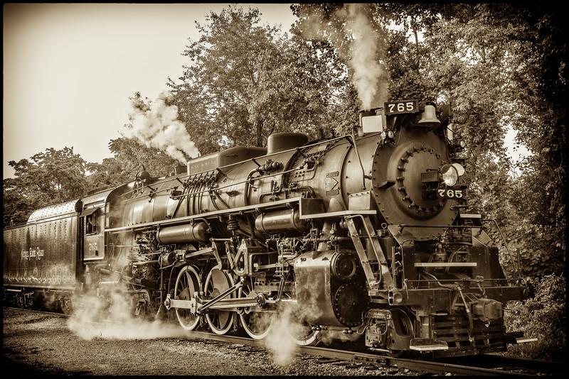 Locomotive Steam Engine
