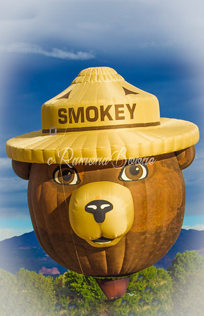 Smokey at the Balloonfest