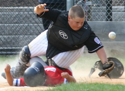 Most Painfull Play at Home - Runner wins but pays the price... Way to go Matt!