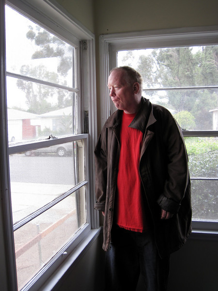 Week 13: Roger saying goodbye to the family home, in his old bedroom, at 1149 Evilo.
