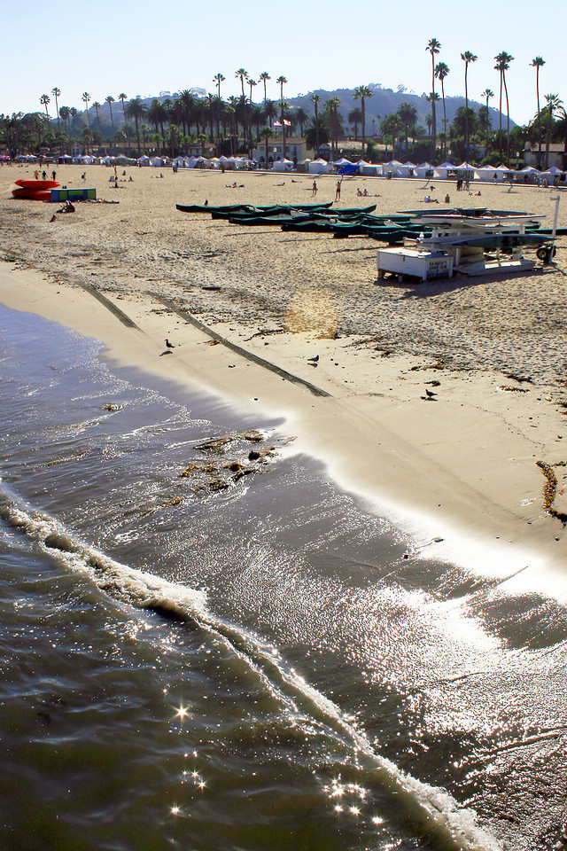 Week 31B: Santa Barbara beach, August 7, 2011