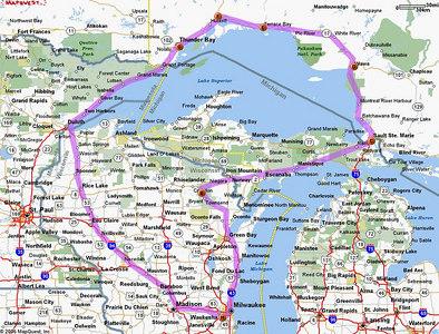 Around Lake Superior - Sept 9-10, 2006