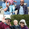 Venice (top) and Xander (bottom) with Granny and Jiichan around 18 months?
