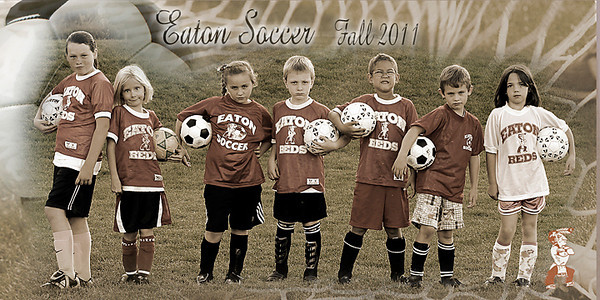 Scott Soccer Fall 2011 Fun team 1