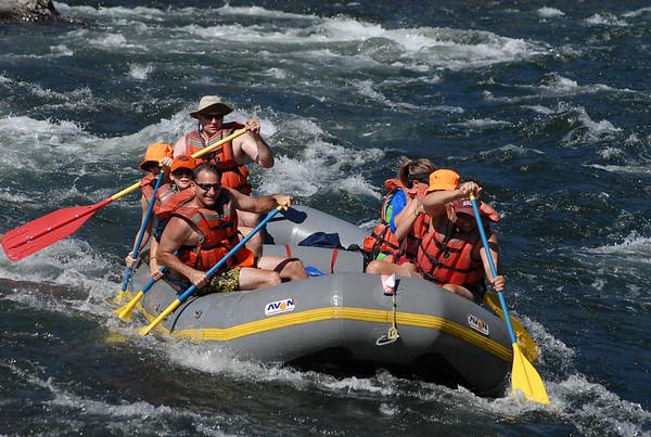 2009 S.F. American River Raft Trip