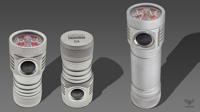 Emisar D4 White Flashlight