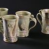Pale Green Straight-sided Mugs