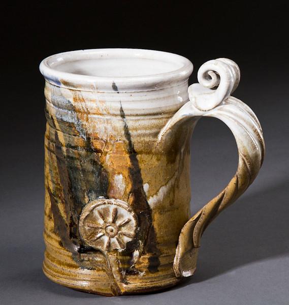 Large Mug With Thumb Stop