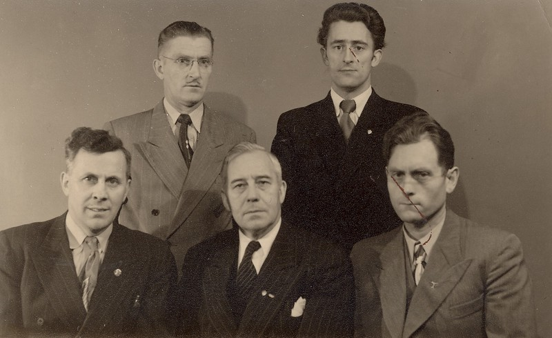Stjórn ÍSÍ 1952 Afmæli ÍSÍ