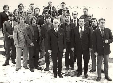 Stofnþing Lyftingasambands Íslands 1973
