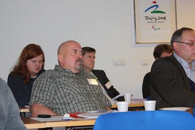 Formannafundur ÍSÍ, 23. nóvember 2012 í Íþróttamiðstöðinni í Laugardal. Hrafnkell Marinósson formaður Íþróttabandalags Hafnarfjarðar.