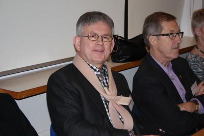 Formannafundur ÍSÍ, haldinn 14. nóvember 2014 í Íþróttamiðstöðinni í Laugardal. Hafsteinn Pálsson og Jón Gestur Viggósson úr stjórn ÍSÍ.