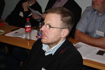 Formannafundur ÍSÍ, haldinn 14. nóvember 2014 í Íþróttamiðstöðinni í Laugardal. Sigurgeir Agnarsson fulltrúi HRÍ.