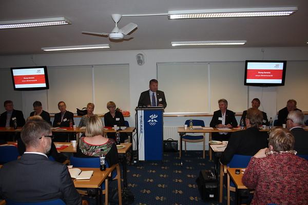 Formannafundur ÍSÍ, haldinn 14. nóvember 2014 í Íþróttamiðstöðinni í Laugardal.