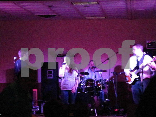 """The band """"Wheelhouse"""" performs at """"A Concert to Remember"""" fundraiser for Alzheimer's."""