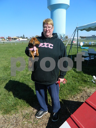 Jodi Peterson and her dog Molly