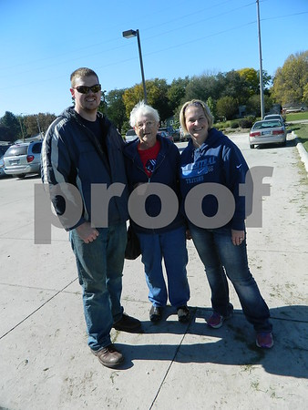 Left to right: Robert Gernhart, Loretta Gilday, and Jenny Gernhart